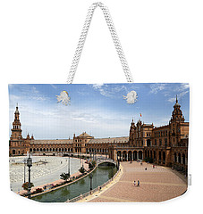 Weekender Tote Bag featuring the photograph Plaza De Espana 4 by Andrew Fare