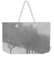 Plaza Impressionism With Kc Snow Weekender Tote Bag
