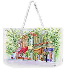 Plaza Shops Weekender Tote Bag