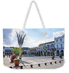 Plaza Vieja Weekender Tote Bag