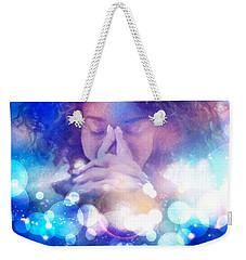 Weekender Tote Bag featuring the digital art Pleasant Daydream by Gun Legler