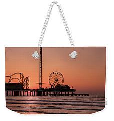 Pleasure Pier At Sunrise Weekender Tote Bag