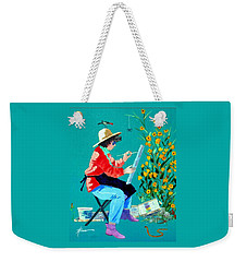 Plein Air Painter  Weekender Tote Bag