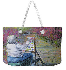 Plein-air Painter Lady Weekender Tote Bag
