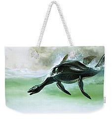 Plesiosaurus Weekender Tote Bag by William Francis Phillipps