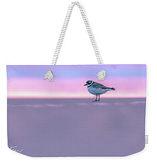 Plover At Sunrise Weekender Tote Bag
