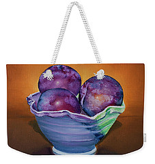 Plum Assignment Weekender Tote Bag