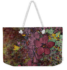 Weekender Tote Bag featuring the photograph Plum Blossom by LemonArt Photography