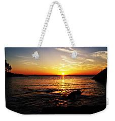 Plum Cove Beach Sunset G Weekender Tote Bag