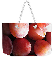 Plum Harvest Weekender Tote Bag
