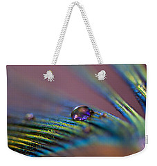 Plum Heart Weekender Tote Bag