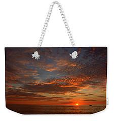 Plum Island Sunrise Weekender Tote Bag