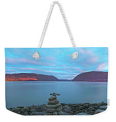 Plum Point Sunset Panorama Weekender Tote Bag by Angelo Marcialis