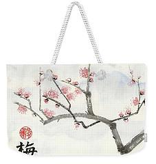 Plum Ume Branch Weekender Tote Bag
