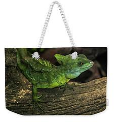 Plumed Basilisk Weekender Tote Bag
