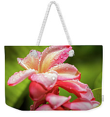 Plumeria 13 Weekender Tote Bag