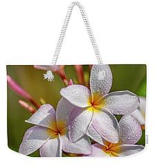 Plumeria 2 Weekender Tote Bag