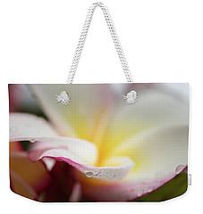 Plumeria 5 Weekender Tote Bag
