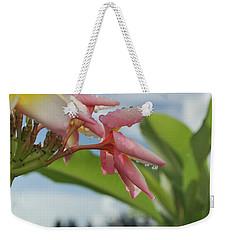 Plumeria Weekender Tote Bag