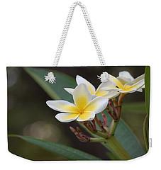 Plumeria II Weekender Tote Bag