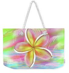 Plumeria Paradise Weekender Tote Bag by Dani Abbott