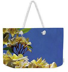 Plumeria_01 Weekender Tote Bag
