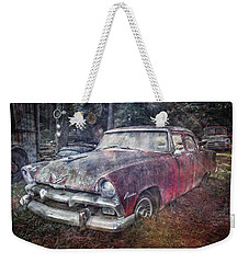Weekender Tote Bag featuring the photograph Plymouth Belvedere by Debra and Dave Vanderlaan