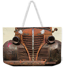 Plymouth For Sale Weekender Tote Bag by Steven Parker