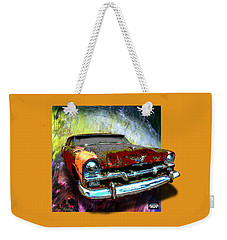 Plymouth From The Past Weekender Tote Bag