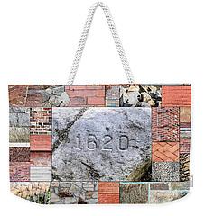 Plymouth Rocks And Bricks Weekender Tote Bag