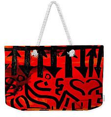 Pmurt Abstract  Weekender Tote Bag