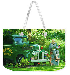 Po Boy Acres Weekender Tote Bag by Trey Foerster
