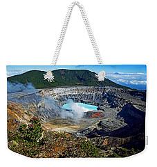 Poas Volcano Weekender Tote Bag
