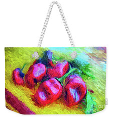 Poblano Chiles Weekender Tote Bag