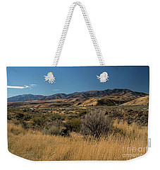 Pocatello Area Of South Idaho Weekender Tote Bag by Cindy Murphy - NightVisions