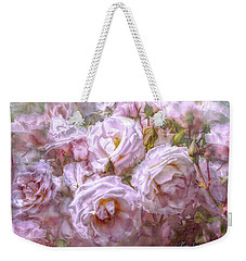 Pocket Full Of Roses Weekender Tote Bag by Kari Nanstad