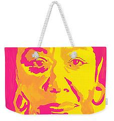 Poetically Speaking  Weekender Tote Bag by Miriam Moran