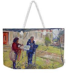 Poetry And Violin Weekender Tote Bag