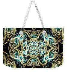 Weekender Tote Bag featuring the digital art Poetry In Motion by Lea Wiggins