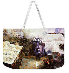Weekender Tote Bag featuring the photograph Poets In Picardy by Claire Bull