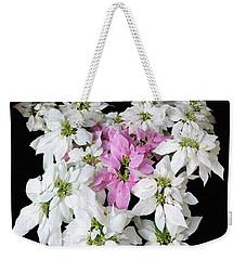 Poinsettia Display Weekender Tote Bag