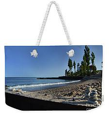 Point Betsie Rock Art Weekender Tote Bag