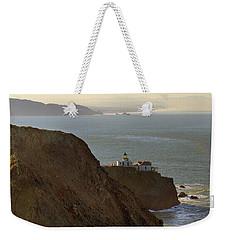 Point Bonita Lighthouse In San Francisco Weekender Tote Bag