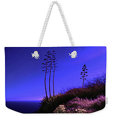 Weekender Tote Bag featuring the photograph Point Fermin In Infrared by Randall Nyhof