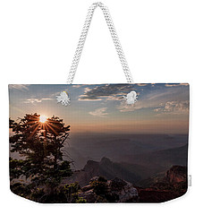 Point Imperial Sunrise Weekender Tote Bag by David Cote
