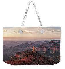 Point Imperial Sunrise Panorama I Weekender Tote Bag by David Cote