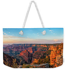 Point Imperial Sunrise Panorama II Weekender Tote Bag by David Cote