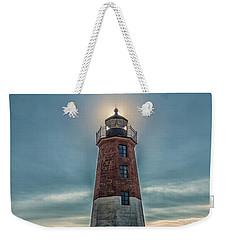 Point Judith Light Narragansett Rhode Island Weekender Tote Bag