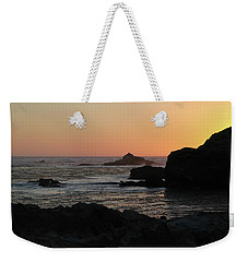 Point Lobos Sunset Weekender Tote Bag