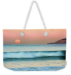 Point Loma Moonset Weekender Tote Bag